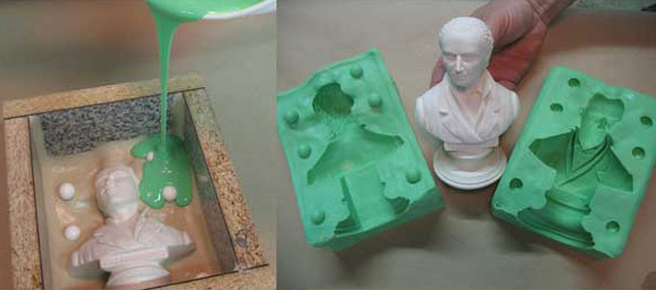 Liquid Rubbers for Mold Making