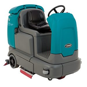 T12 Compact Battery-Powered Ride-on Scrubber-Dryer