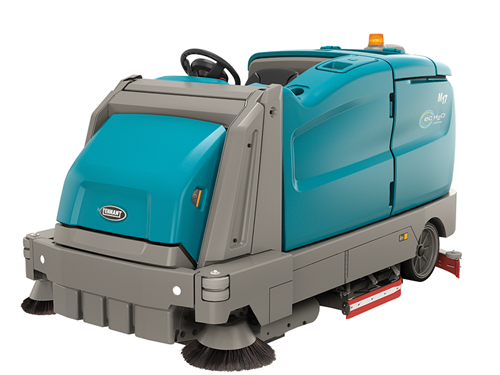 M17 Battery-Powered Rider Sweeper-Scrubber