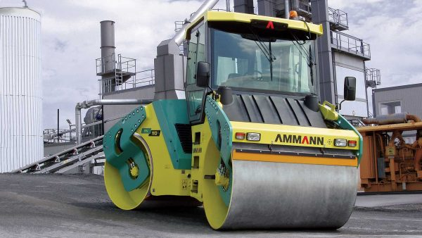 AV 110 X Tier 2 Articulated Tandem Roller