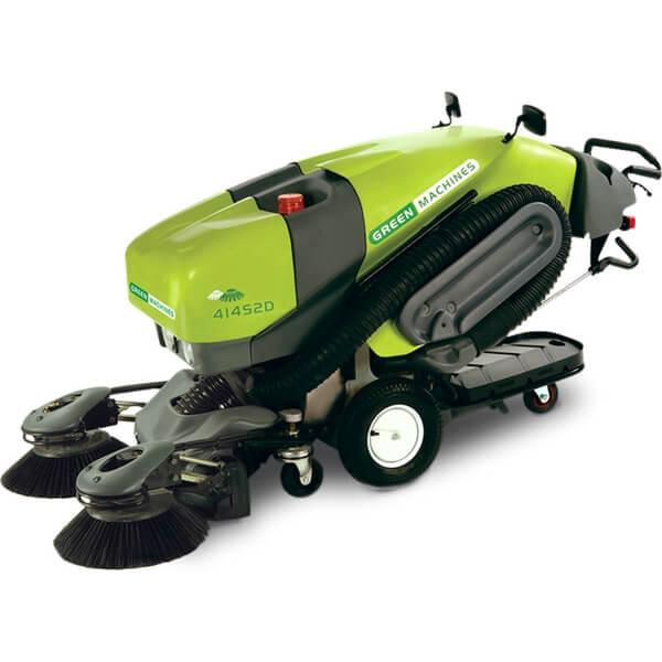 green machine sweepers