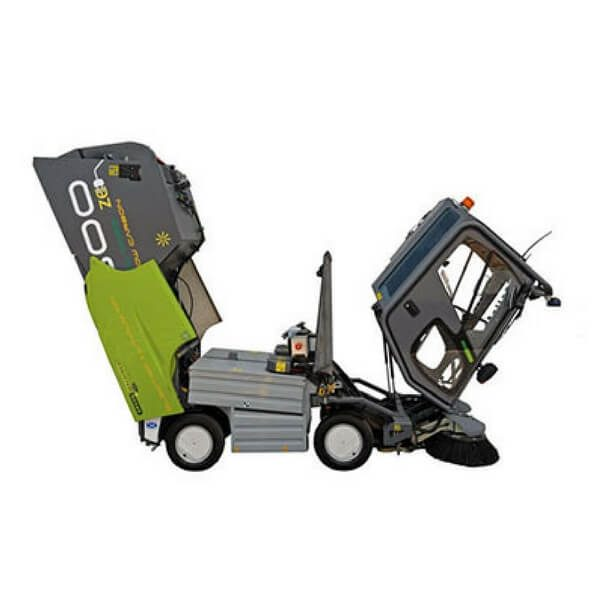 500ze Green Machines Electrical Street Sweeper 1
