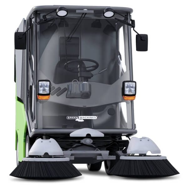 500ze Green Machines Electrical Street Sweeper 2