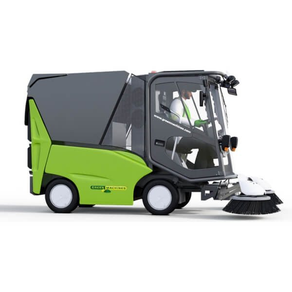 500ze Green Machines Electrical Street Sweeper Main